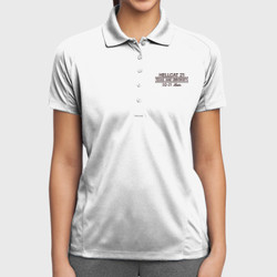 SQ-21 Mom Dri-Mesh Polo