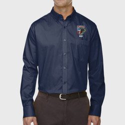 SQ-21 Dad LS Twill Shirt